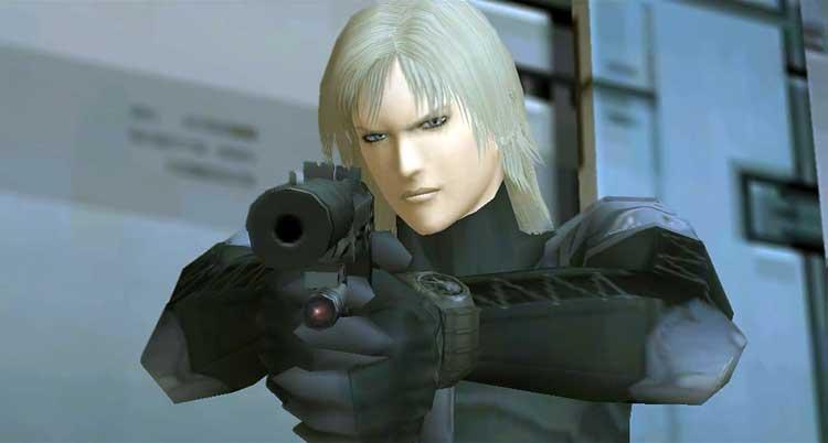 Raiden, protagonista de la mayor parte de la historia de Metal Gear Solid 2: Sons of Liberty.