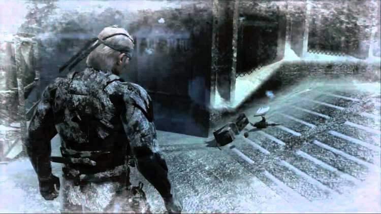 Solid (Old) Snake de vuelta a la isla de Shadow Moses.