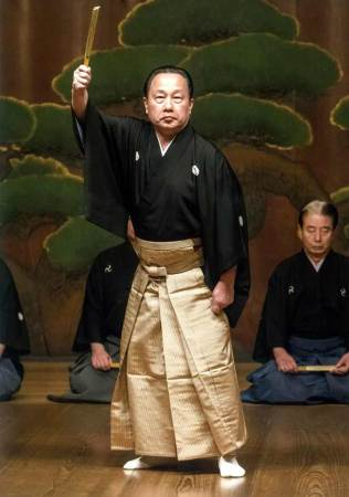El maestro Michikazu Taneda