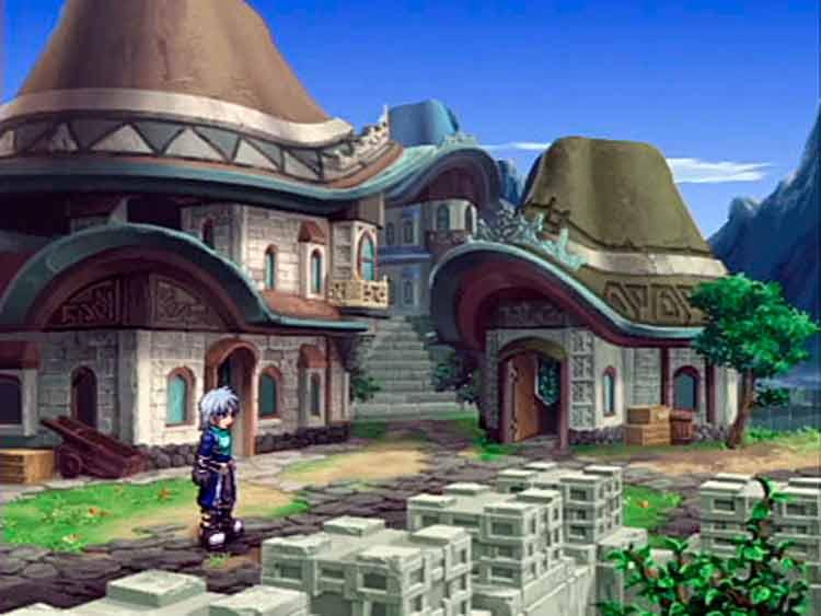 Captura de pantalla de Tales of Rebirth.