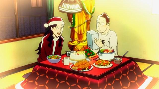 Comida de Navidad y Año Nuevo en el anime de Japón