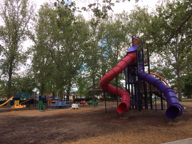 Awesome park in Leeton, fun for kids of all sizes.