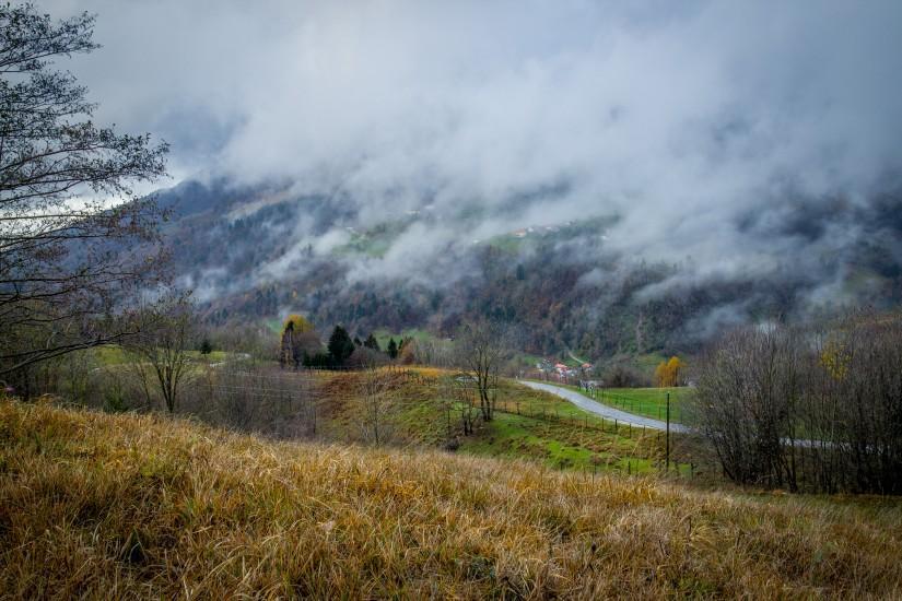 fog in Slovenia