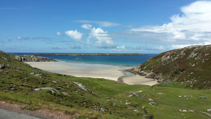 beaches in scotland