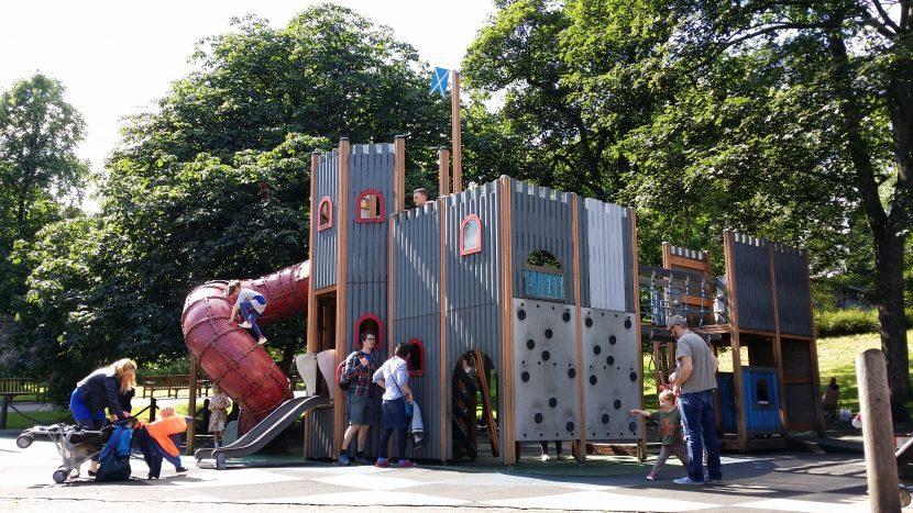 playground in Edinburgh