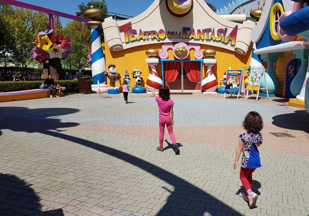 Gardaland with kids