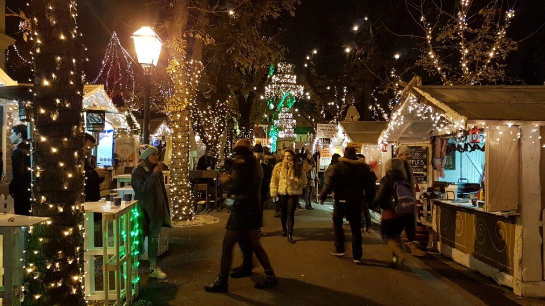 Zagreb Christmas market with kids