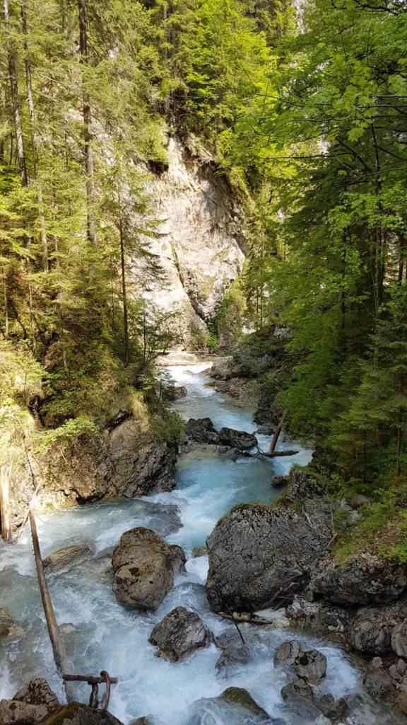 Martuljek Waterfalls