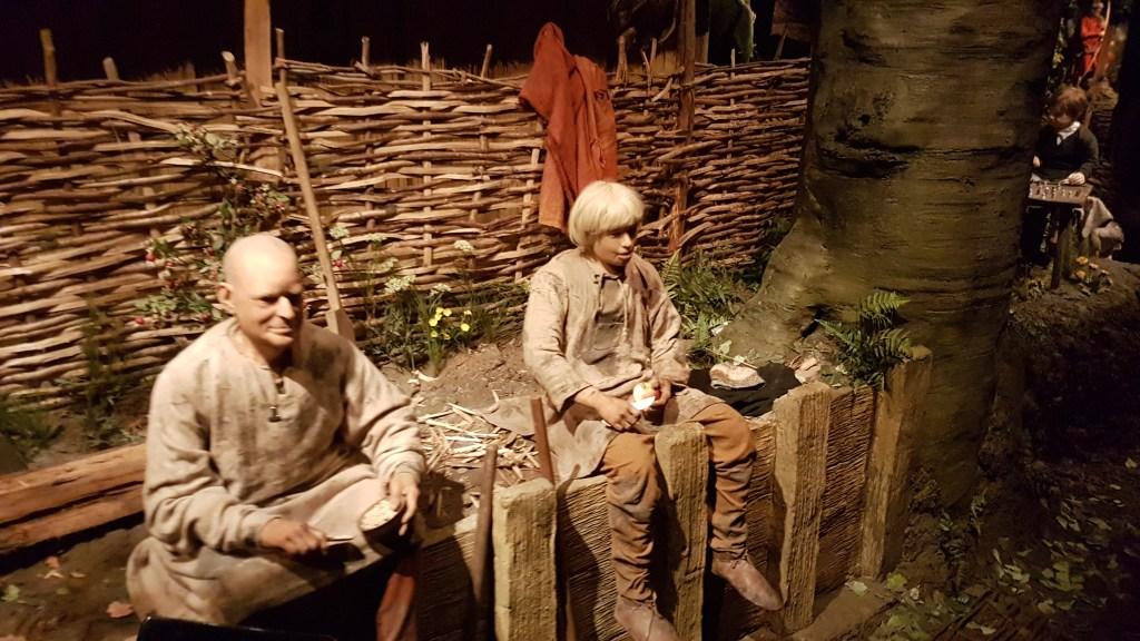 A scene at the Jorvik Viking Centre