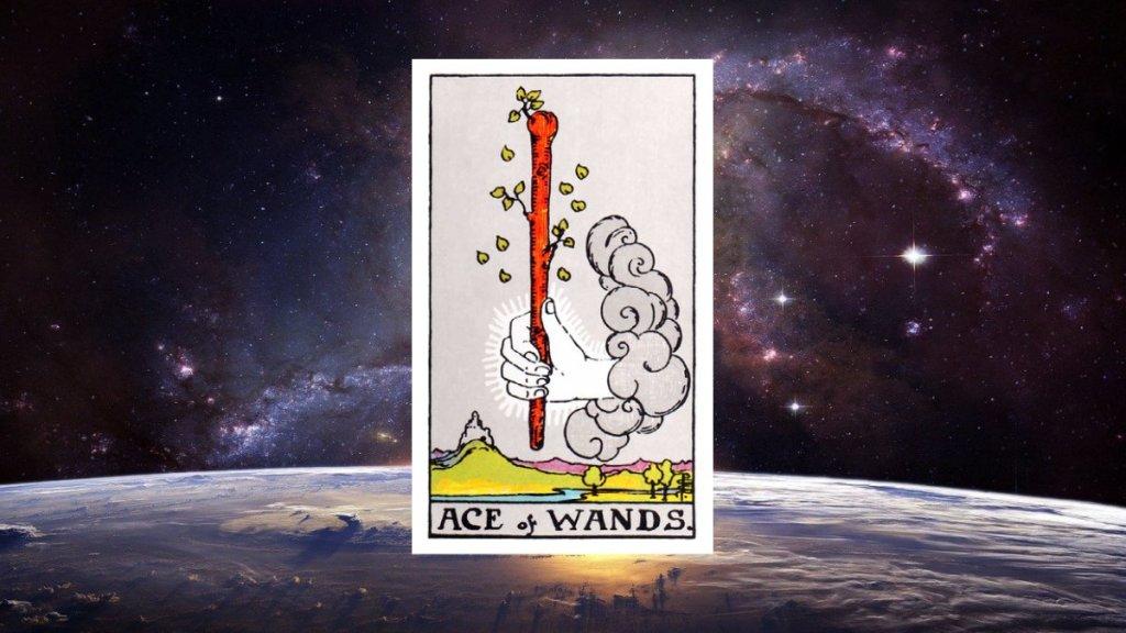 塔羅牌牌意解密 - 權杖王牌 ( Ace of Wands )