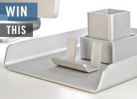 GIVEAWAY: Deskology Modern Desk Accessories | Cool Material