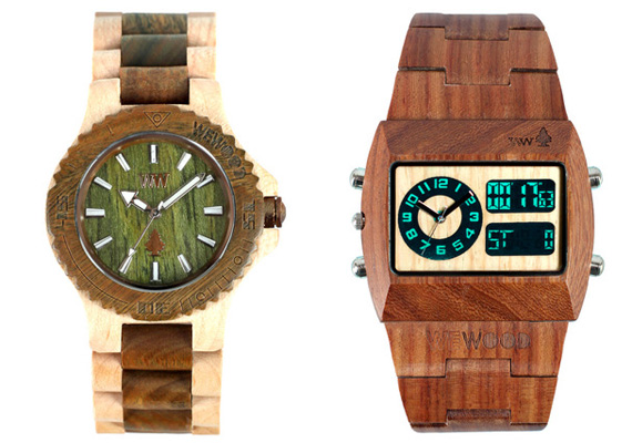 Wewood Wooden Watches  Cool Material
