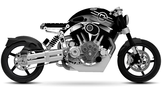 Confederate C3 X132 Hellcat Motorcycle