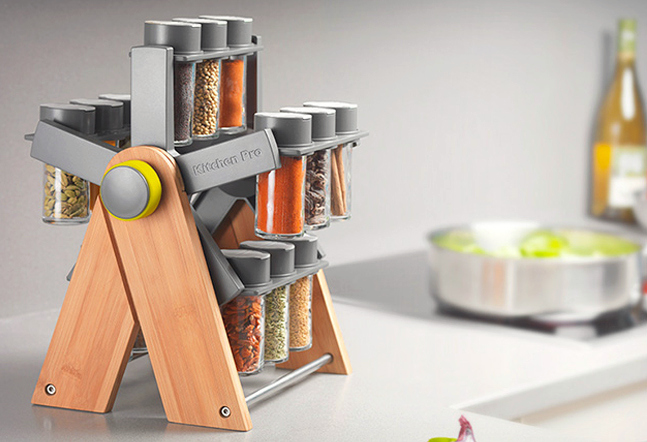 ferris deluxe spice rack cool material