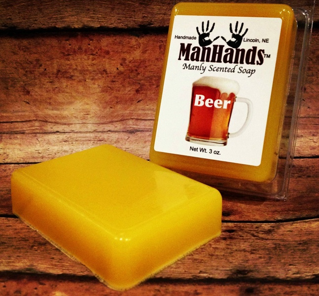 ManHands Beer Soap
