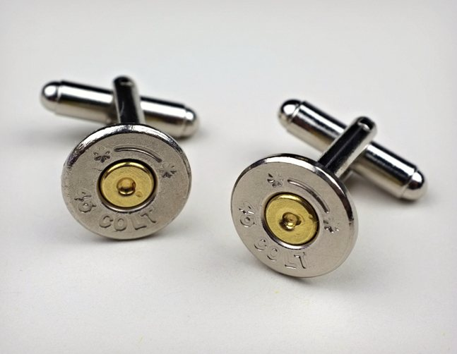 Bullet Cuff Links  Cool Material