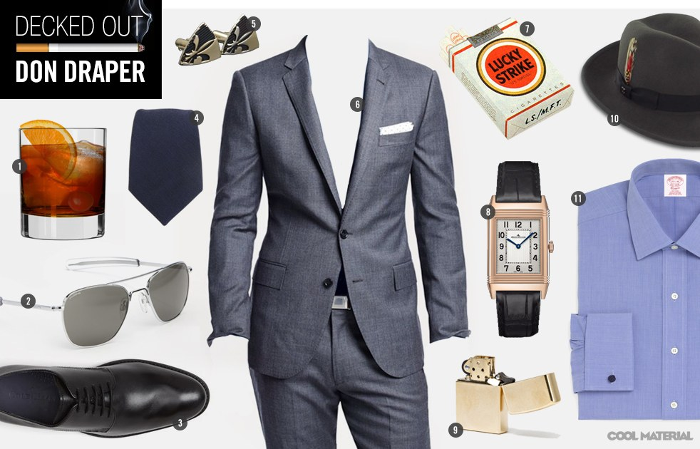 Decked Out Don Draper  Cool Material