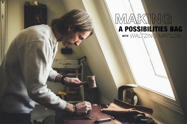 Making A Possibilities Bag With Waltzing Matilda Your