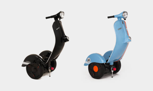 The Z Scooter Is Part Segway And Part Vespa Est Last Week Merch