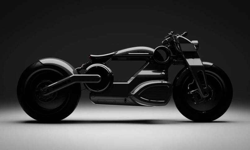 Curtiss Zeus Electric Bobber Motorcycle
