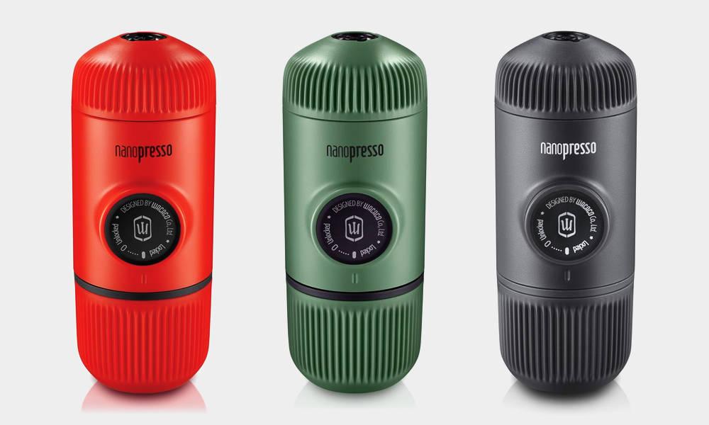 Nanopresso Portable Espresso Maker | Cool Material