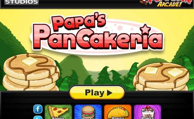 Papa S Pancakeria Unblocked Play At Cool Math Games For Kids