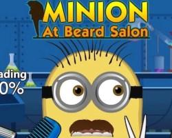 Minion At Beard Salon