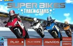 Super Bikes Track Stars