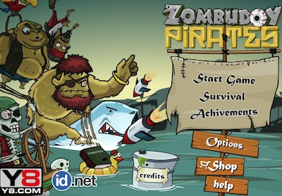 Awesome Pirates Game - Play online at Y8.com