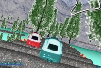 Coaster Cars Twist Track