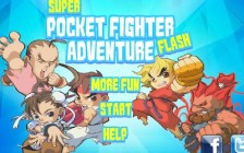 Super Pocket Fighter Adventure Flash