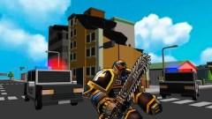 Robot Hero City Simulator