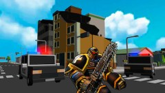 Robot Hero City Simulator