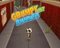 grump cat runner
