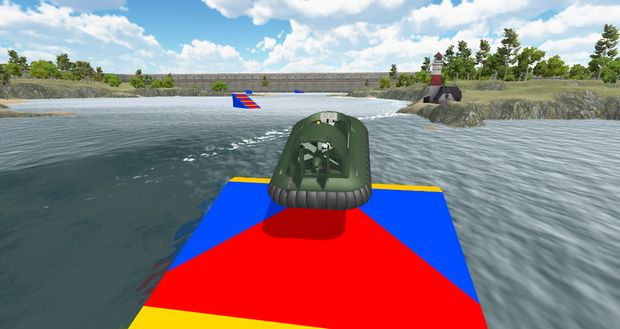 Free Download Hovercraft Drive PC Game