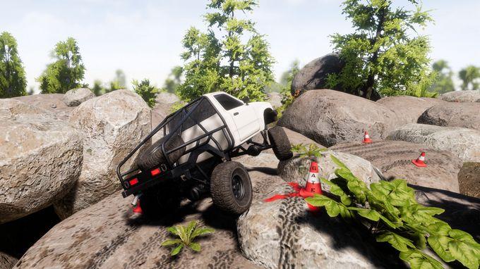 Free Download Pure Rock Crawling PC Game