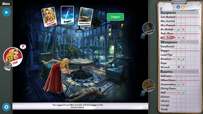 Free Download Clue The Classic Mystery Game PC Game