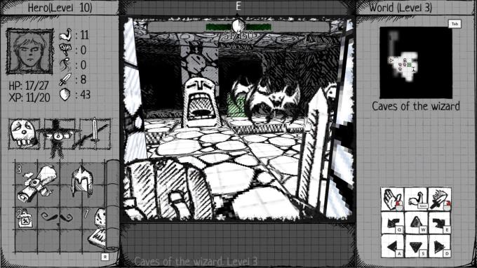 Drawngeon: Dungeons of Ink and Paper Torrent Download