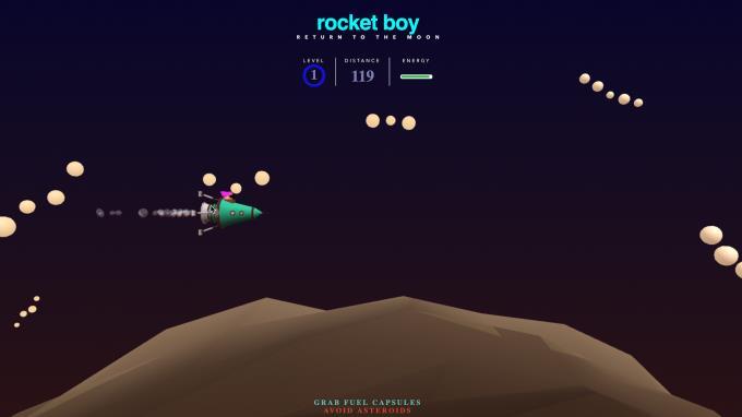 Rocket Boy PC Crack