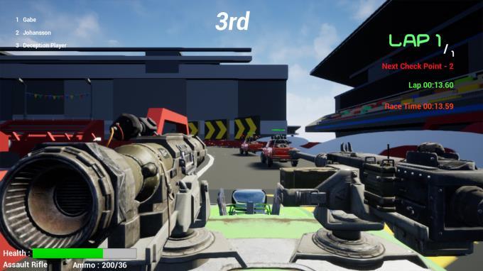Deep Race: Battle Torrent Download