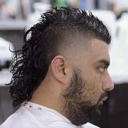 modern permed mullet hairstyles