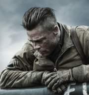 brad pitt's fury hairstyle