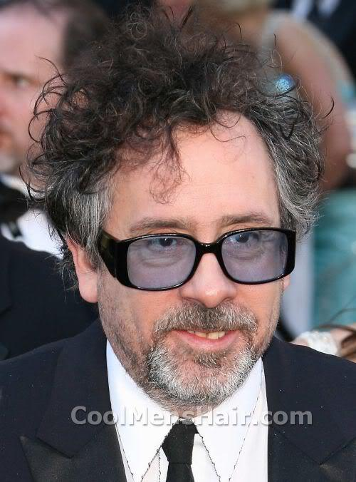 The Tim Burton Curly Hairstyle Cool Mens Hair