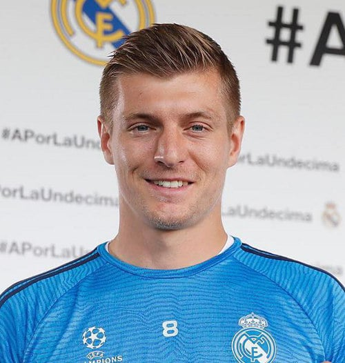 How To Get The Toni Kroos Hair Style – Cool Men's Hair