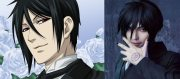 hottest anime guys with black
