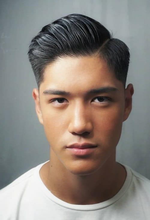 Asian Slick Back : asian, slick, Asian, Undercut, Hairstyles, Crazy, Men's