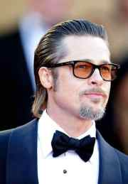 7 epitome of brad pitt's long hairstyles