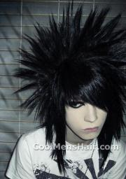 style emo hair cool men's