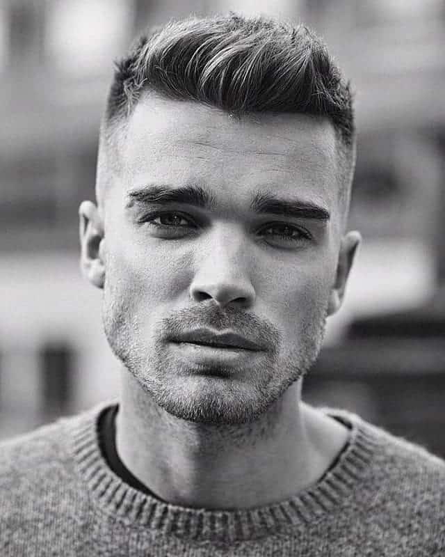 Trendy Mens Haircuts Short Sides Long Top
