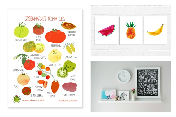 kitchen art work tile countertop affordable prints to make your pretty that will a more beautiful place